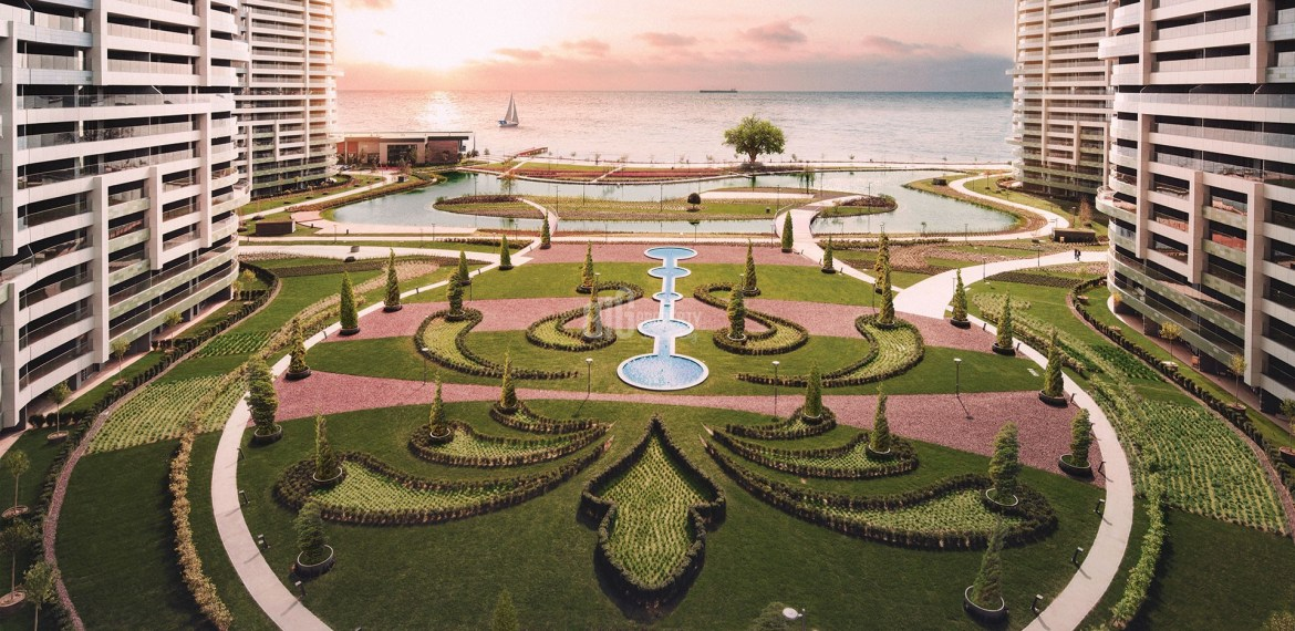 Luxury residential for sale with amazing sea view in Istanbul Atakoy