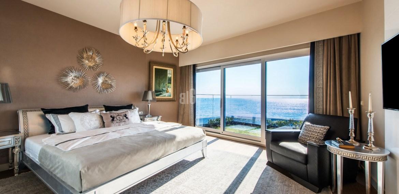 Luxury villas for sale with wonderful sea view in Istanbul Bakirkoy