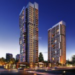 Modern Architectural apartments for sale in Istanbul Gunesli