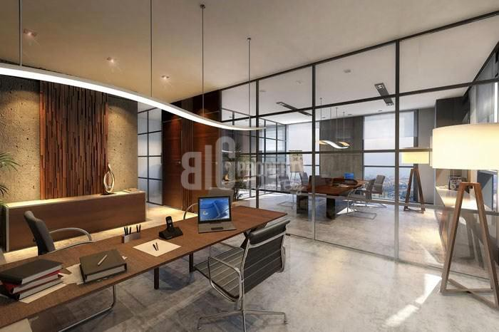 Quality offices beside shopping mall for sale in Istanbul gunesli