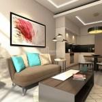 Trendly smart real estate for sale in Istanbul Gunesli