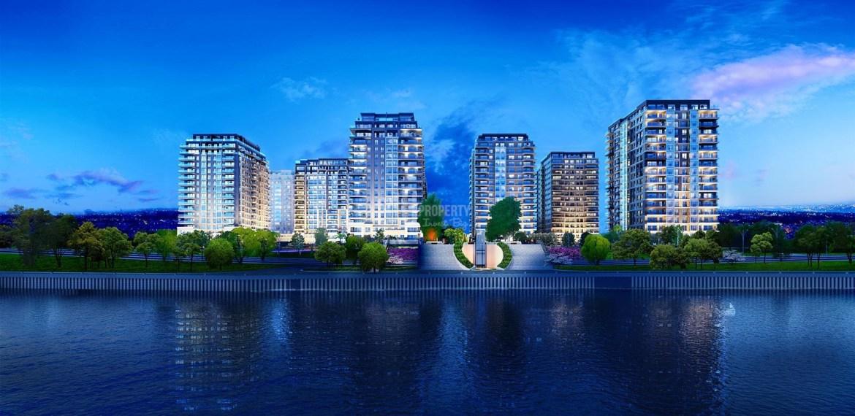 Your dream flat for sale wonderful bosphorus view in Bakirkoy