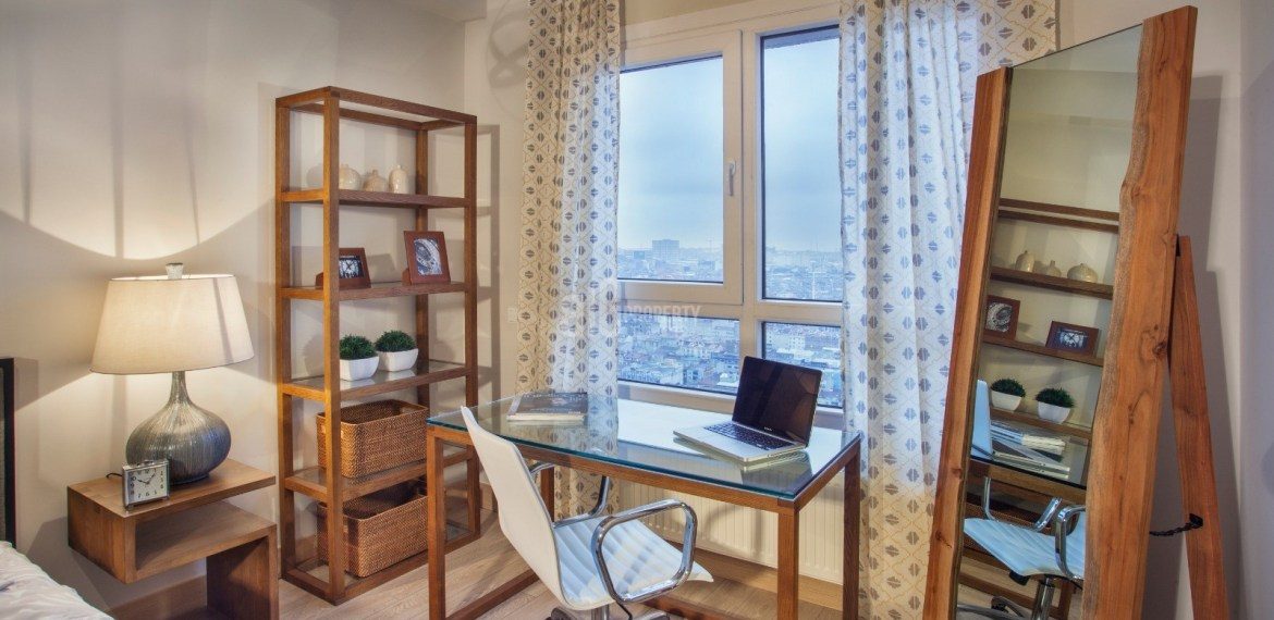 sample apartment of nurol park residence for sale istanbul