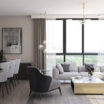 sample apartments living room strda project