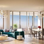 Best opportunity homes for sale with amazing city view near to highway in Istanbul Levent