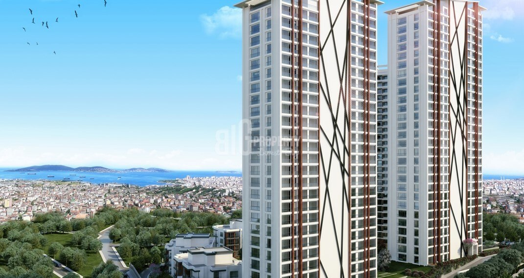 Asian Side Green turkish house with wonderfull sea and island view in istanbul Maltepe