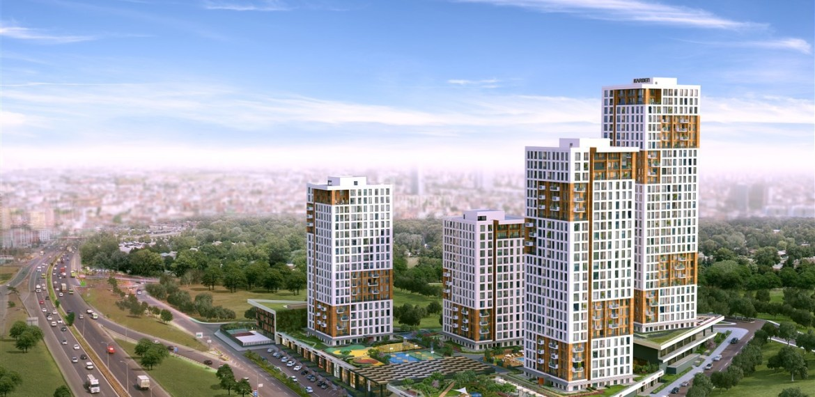 Comfortable properties with family Lifestyle for sale Esenyurt İstanbul