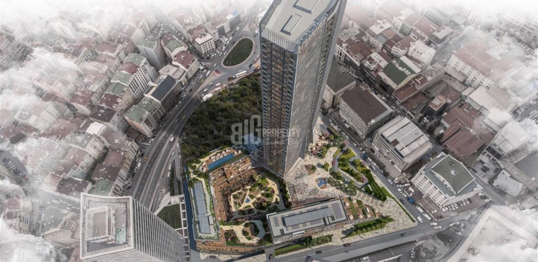 1-High Tower with horizontal boshphorus view in Bomonti İstanbul