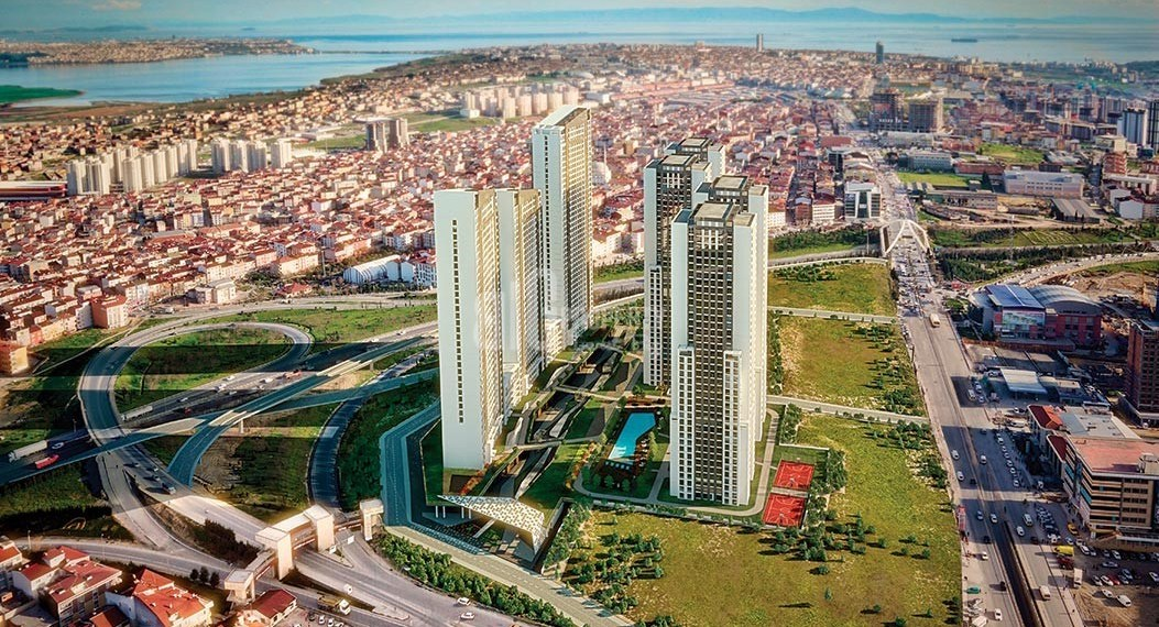1-New apartments with reasonable prices for sale for sale İstanbul Esenyurt