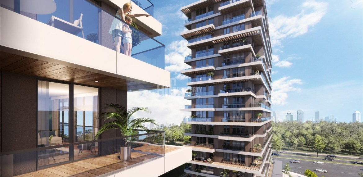 Best Locations investment residence for sale up to metro turkey İstanbul Kagithane