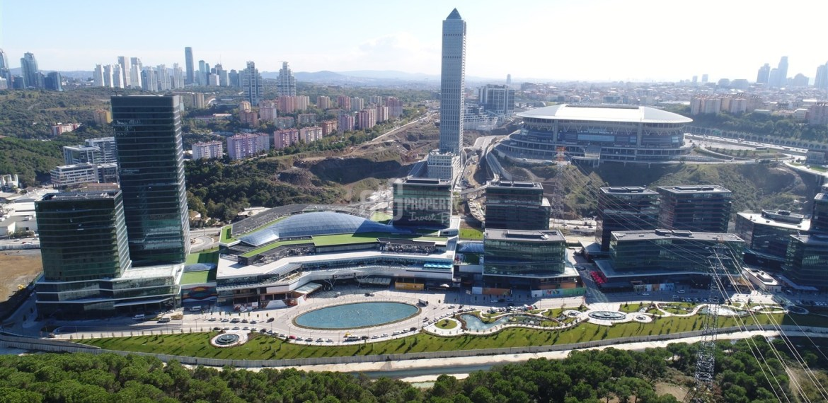 Biggest City center project for sale Maslak İstabul