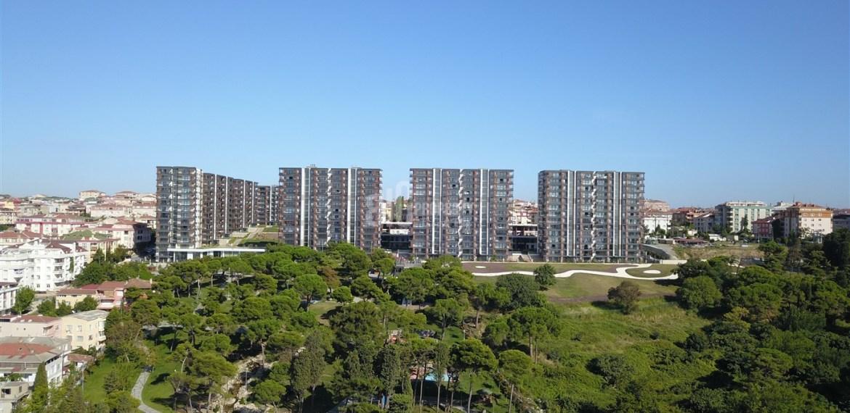 Cennet koru canal istanbul view flats for sale kucukcekmce istanbul
