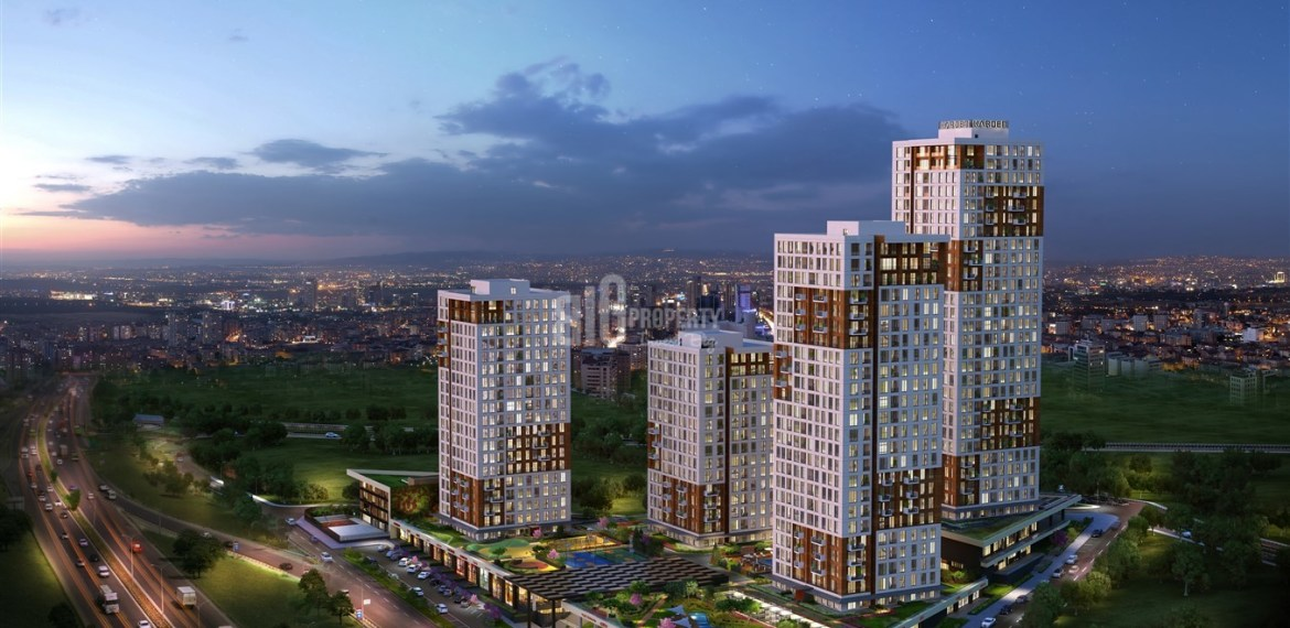Comfortable homes with family Lifestyle for sale Esenyurt İstanbul