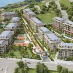 Full Sea view houses near to marina for sale Beylikduzu İstanbul