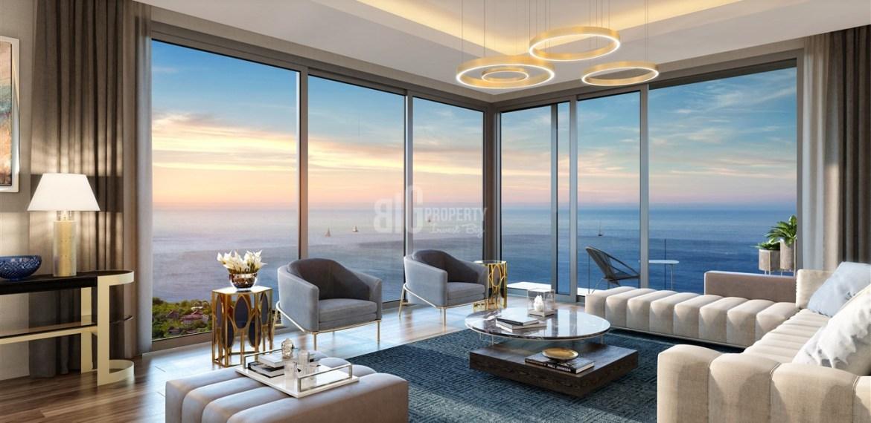 Full Sea view residence near to marina for sale Beylikduzu İstanbul