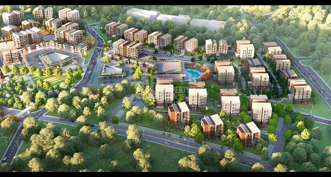 Natural lifestyle apartments for sale asian side of Istanbul Cekmekoy Turkey