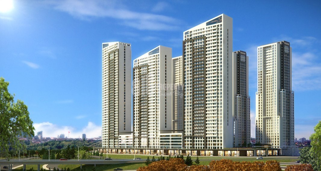 New home with reasonable prices for sale for sale İstanbul Esenyurt