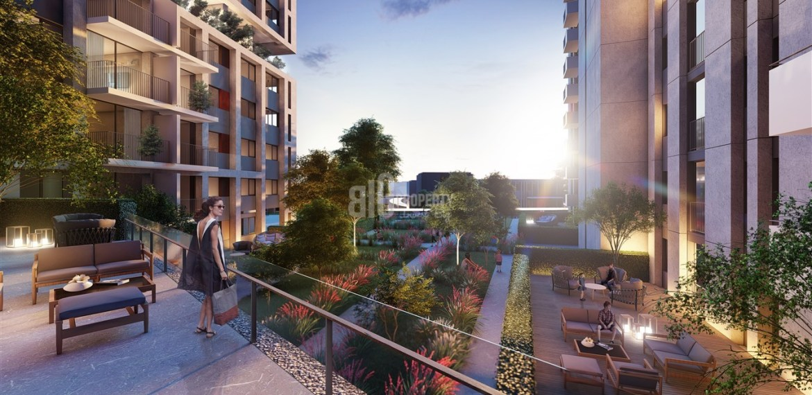 On Going Advantage price city center houeses for sale Gaziosmanpasa Istanbul