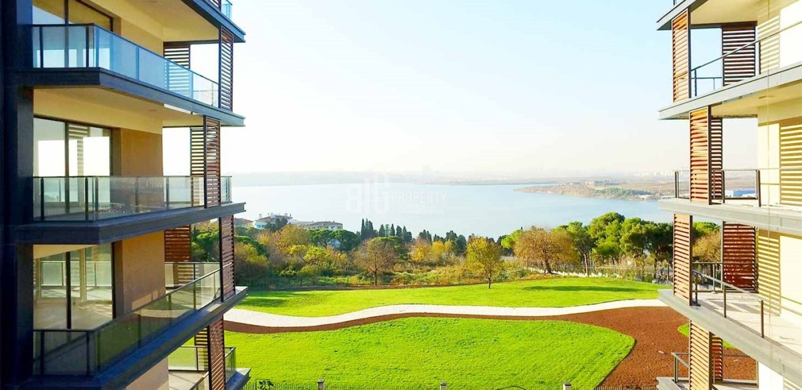 The Most Beautiful canal istanbul key ready and citizenship real estate for sale in Kucukcekmece İstanbul
