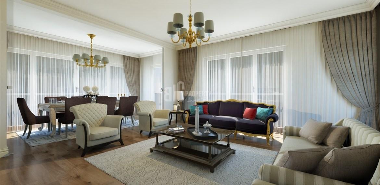 avrupa konutları basaksehir buying home in turkey Green Garden family properties for sale İstanbul Basaksehir