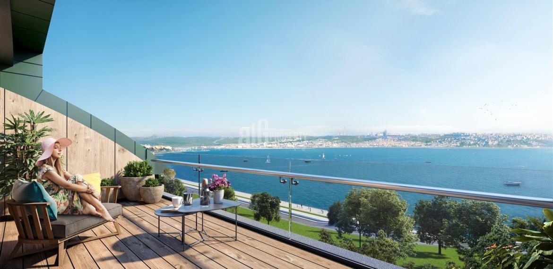 buying home in turkey Marina 24 Seashore houses for sale istanbul buyukcekmece