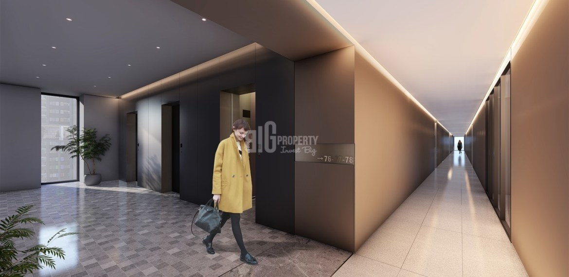 ready apartments for sale pre launch time price for sale nef ortaya project in istanbul gaziosmapasa