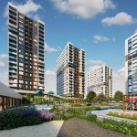 investing new apartments close to shopping mall in city center of istanbul Gaziosmanpasa