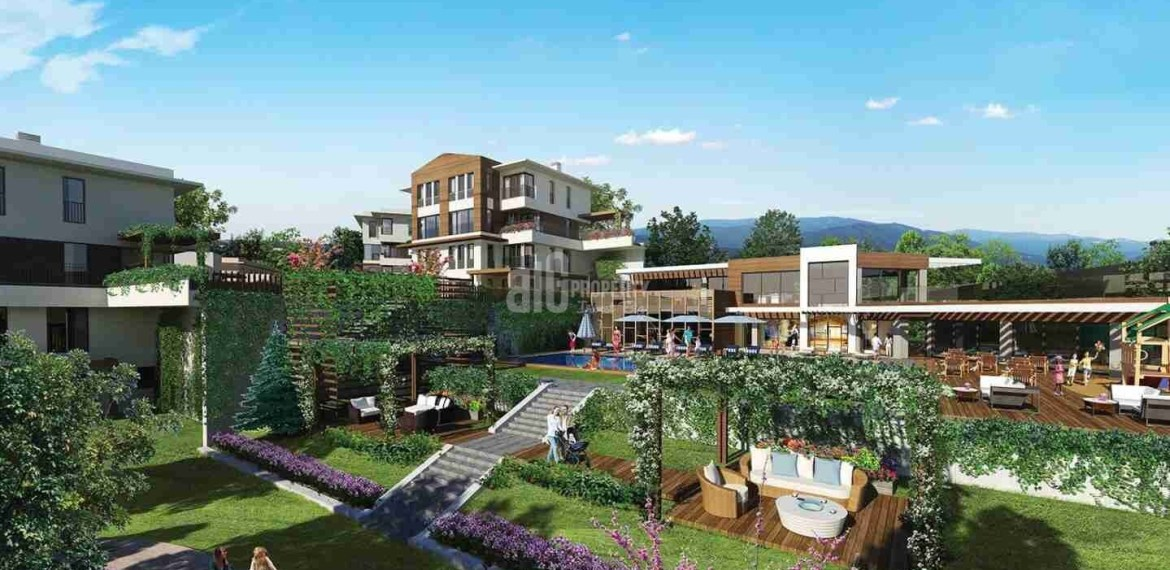 peaceful location natural quality family apartments for sale Istanbul Basaksehir