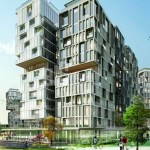 Big homes for sale at city center with amazing green area in Istanbul Taksim