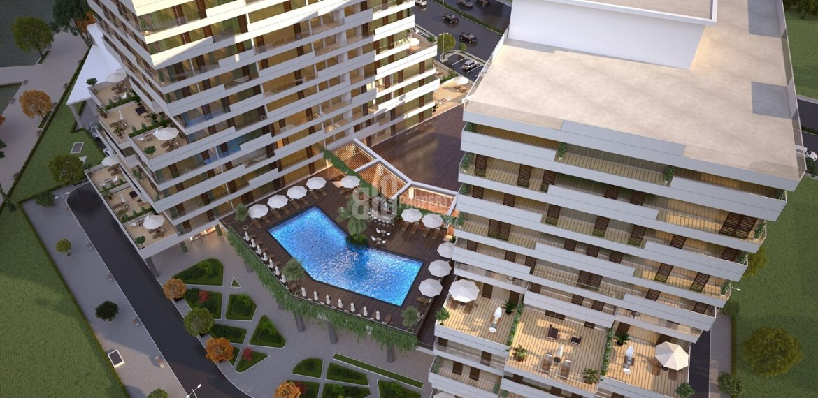 Excellent locations project for invesment in İstanbul Maslak