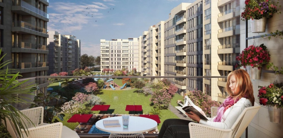 Ottoman palace sytle family and invesments flats for sale istanbul Esenyurt