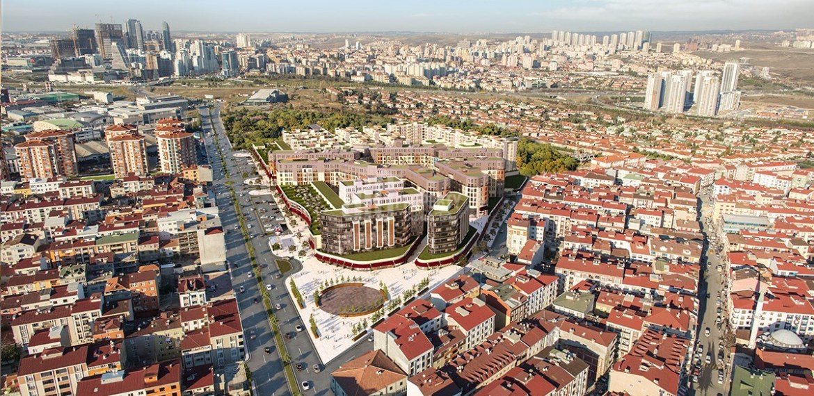 Ottoman palace sytle family and invesments project for sale istanbul Esenyurt