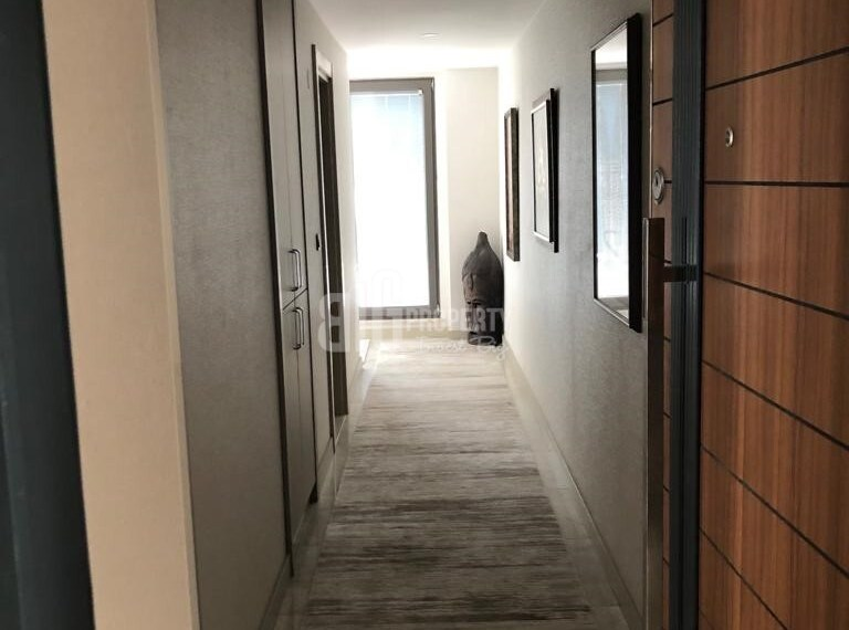 Panoramic city view apartment for sale Eyup İstanbul