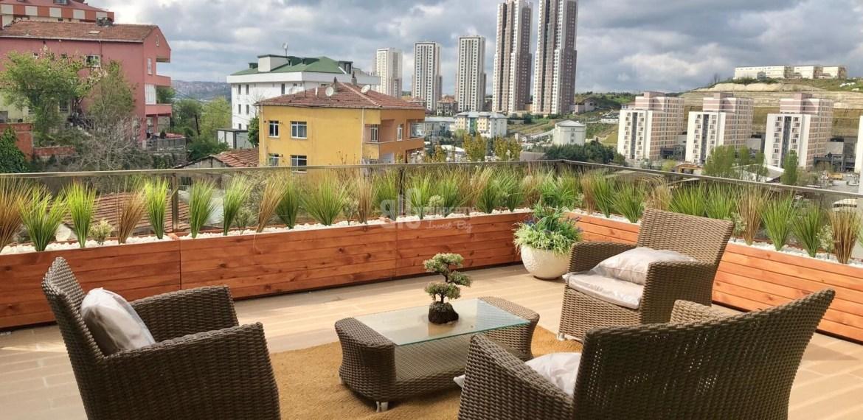 Panoramic city view homefor sale Eyup İstanbul