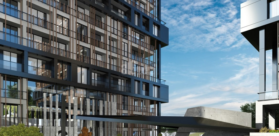 City Center Modern Architecture Family Concept home in Kagithane İstanbul