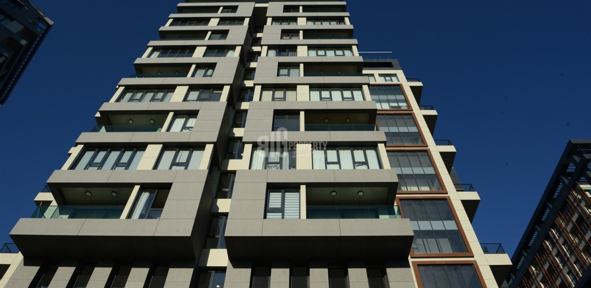 City Center Modern Architecture Family Concept real estate in Kagithane İstanbul Turkey