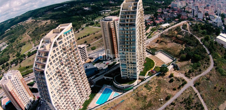 Cukurova Balkon Asian Side Symbol dizayn apartments for sale sea and ısland view asian side of istanbul Kartal