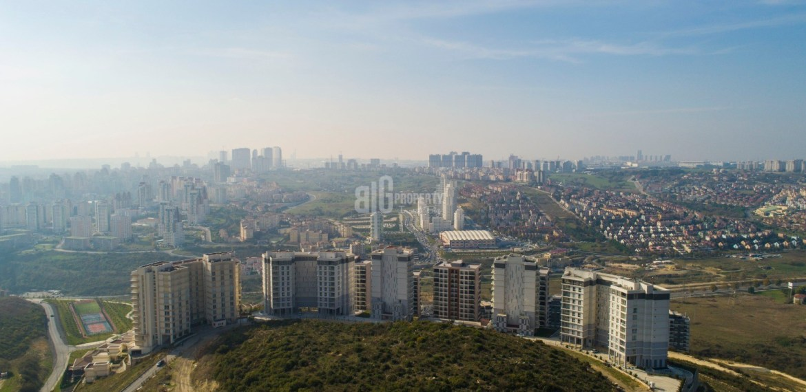 Key ready natural elit project for sale Basaksehir Istanbul