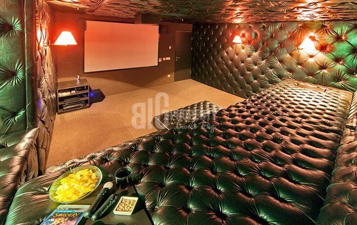 cinema room in nef atakoy