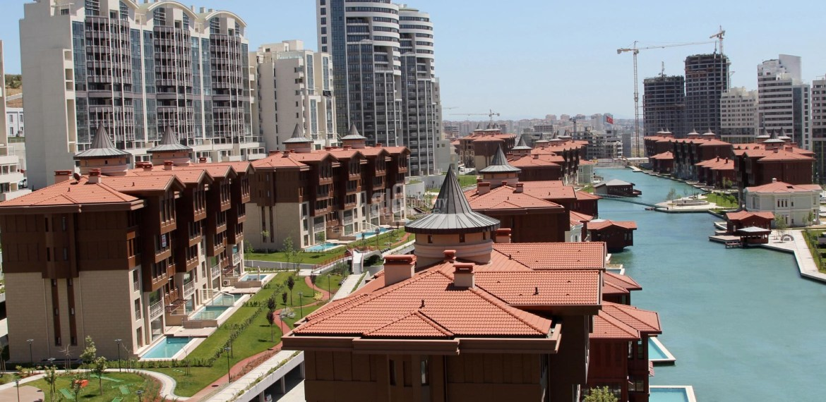 green area of bosphorus city by big property agency