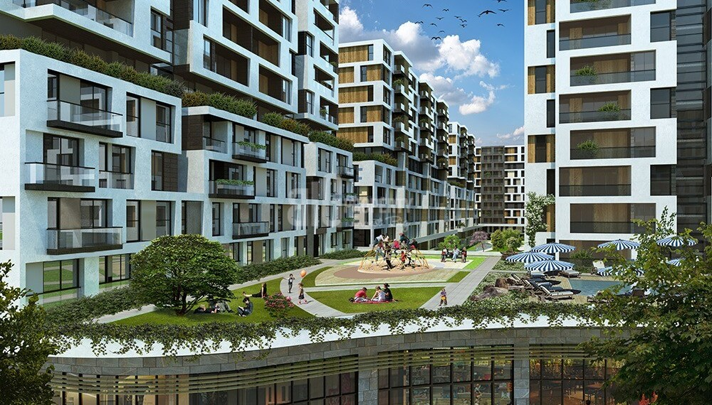 Westside Apartments with best price for sale in istanbul city centre Beylik