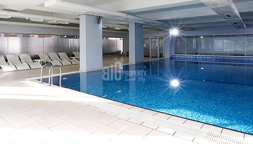 indoor swimming pool Batisehir Real Estate for sale with turkish citizenship istanbul