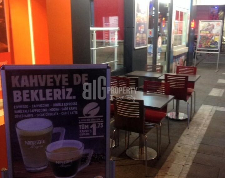 Burger king property for sale in istanbul