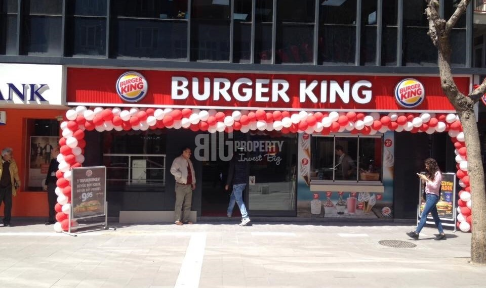 famous fast food commercial property for sale in istanbul turkey