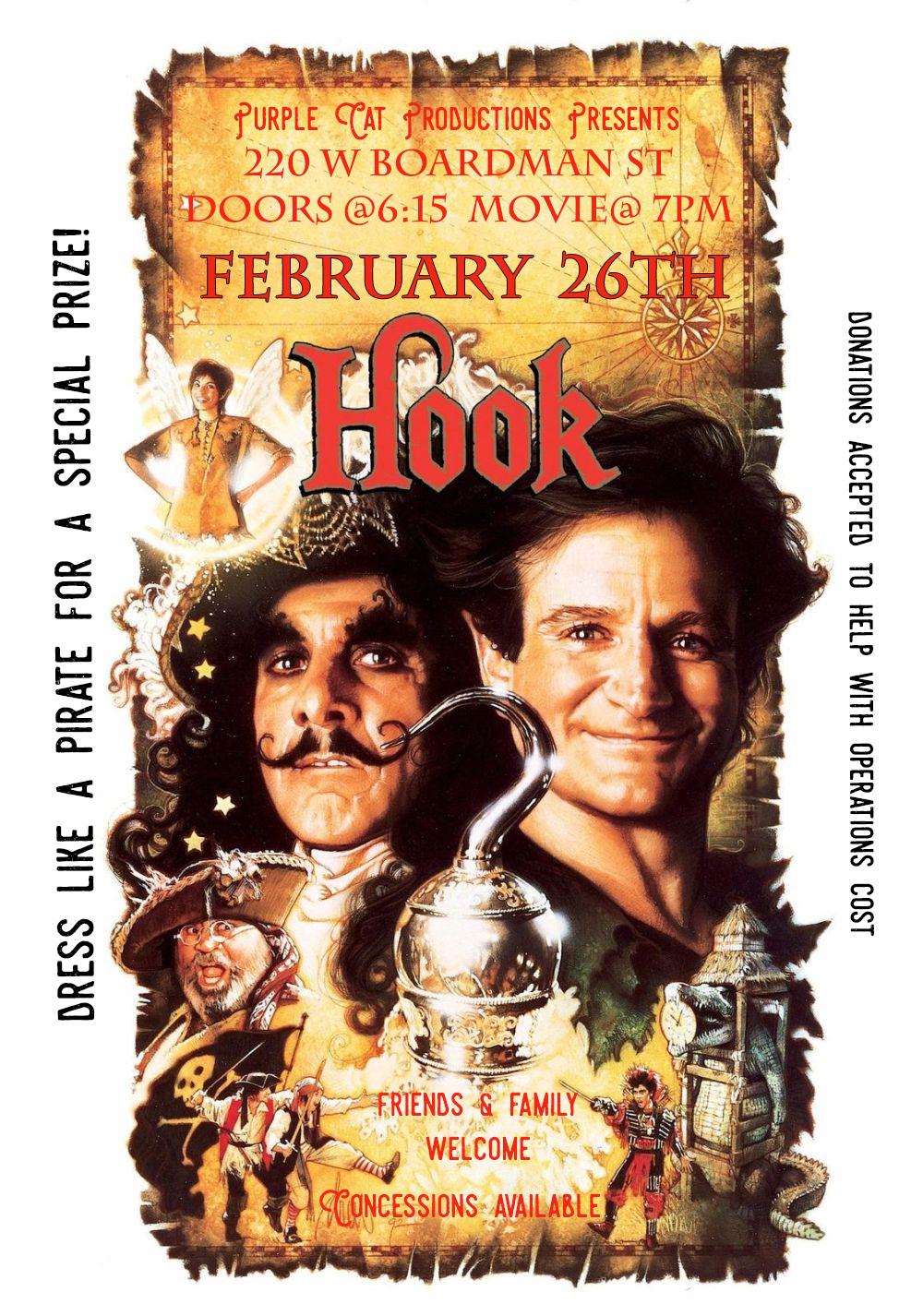 Monday Night Movie: Hook
