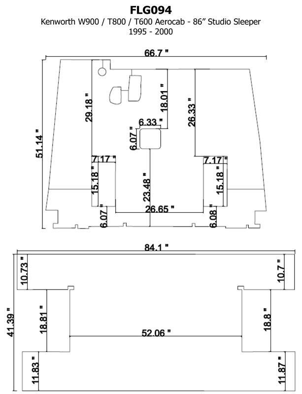 FLG094 Cut File kenworth t800 wiring schematic roslonek net,Kenworth T800 Wiring