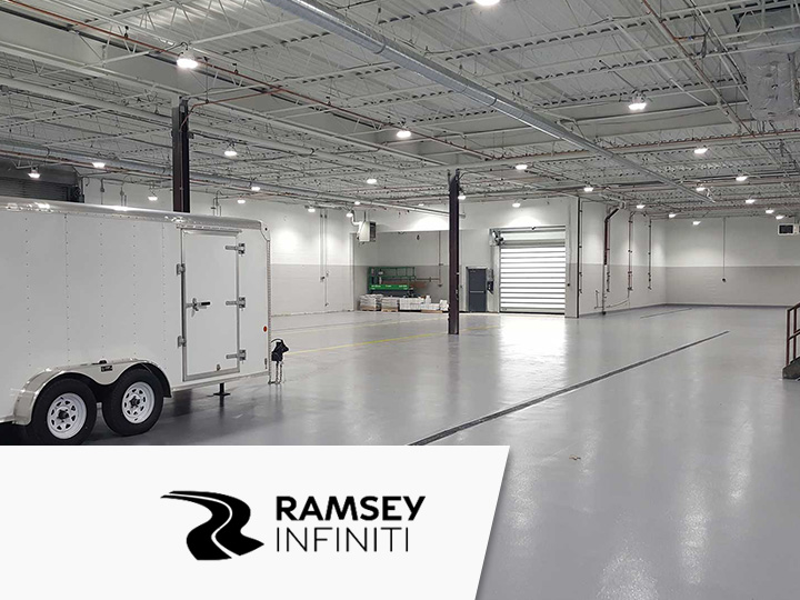 Led lighting case study industrial ramsey infiniti nj