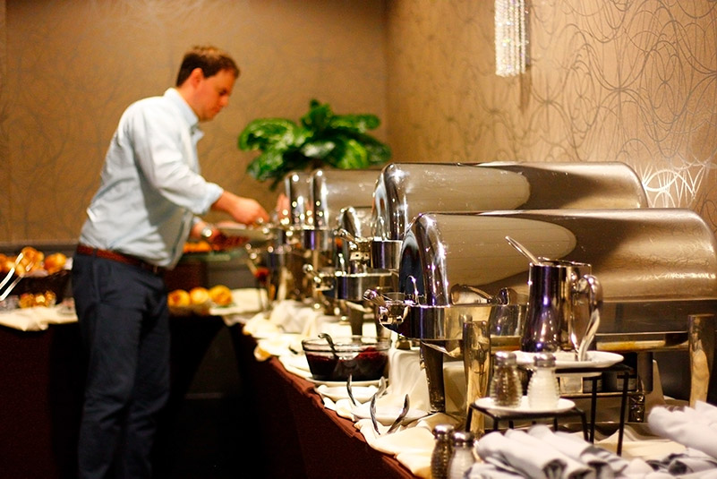 Orange and Rockland graciously hosted a buffet-style breakfast for contractors.