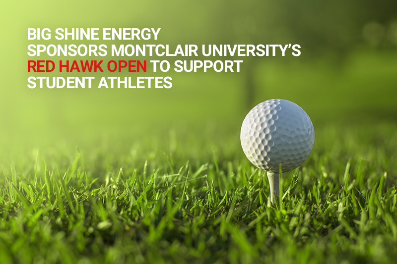 Big Shine Energy Sponsors Montclair's Red Hawk Open to Support Student Athletes