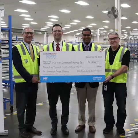 Big Shine Energy Celebrates Harmon Inc.'s Sustainability Achievement at Its Glen Burnie Facility